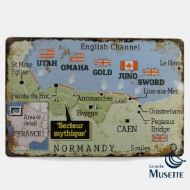 Landing Map plate
