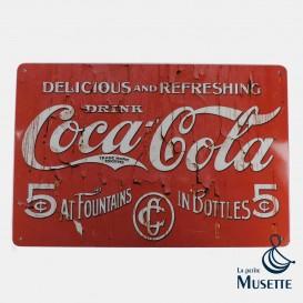 Coca-Cola plate