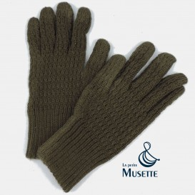 Wool gloves, Luxury