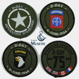 D-Day / 75th Patch Set