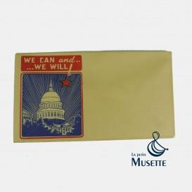 Patriotic envelope