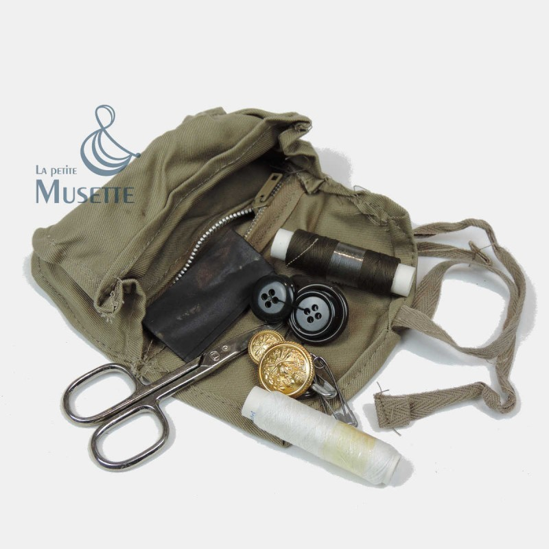 Trousse couture sewing kit us complet full army militaire for Trousse de couture complete