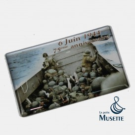 D-Day 75th magnet