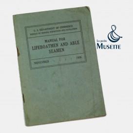 Navy lifeboatmen manual