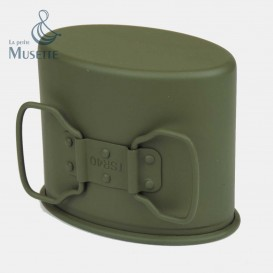 Green german cup for the canteen