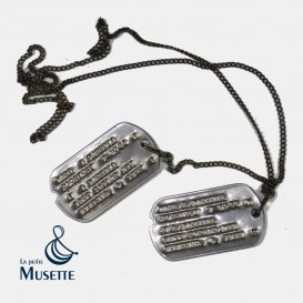 US WWII Dog Tags