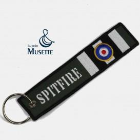 RAF Spitfire key chain