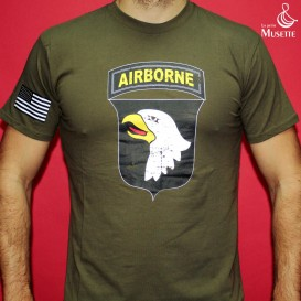 T-Shirt 101ème - Vert