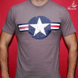 USAAF T-shirt - Grey