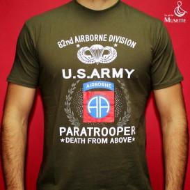 T-Shirt Army 82ème Airborne
