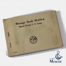 M210 Message Book