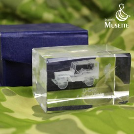 Glass block - Jeep