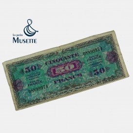 50 Francs Invasion Note