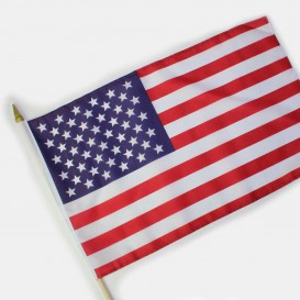 Drapeau Bâton USA