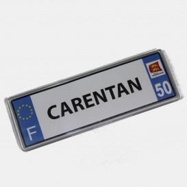 Carentan Plate Magnet