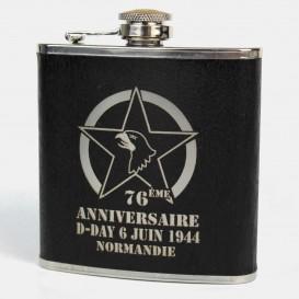 76th flask - Black