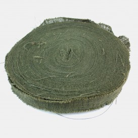 Burlap Roll - Green