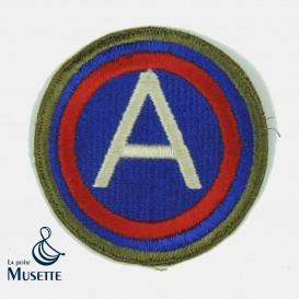 Greenback 3rd Army Patch