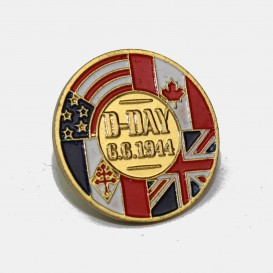 D.DAY 6.6.1944 Pin's