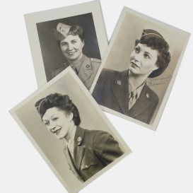 Lot of 3 WAC portraits
