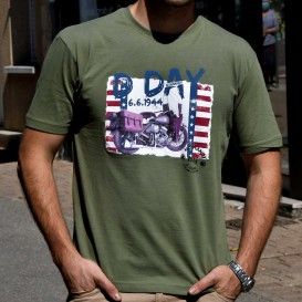 D-Day Harley T-Shirt