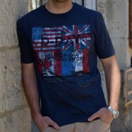 T-Shirt Drapeaux Alliés