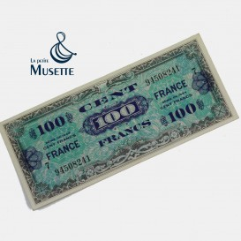 100 Francs Invasion Note