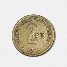 2 Francs Invasion Coin