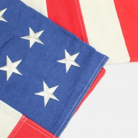Embroidered USA flag - 48 stars