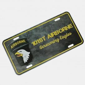 Screaming Eagles Plate
