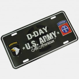 US Airborne Plate