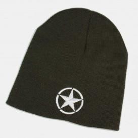 US star wool cap