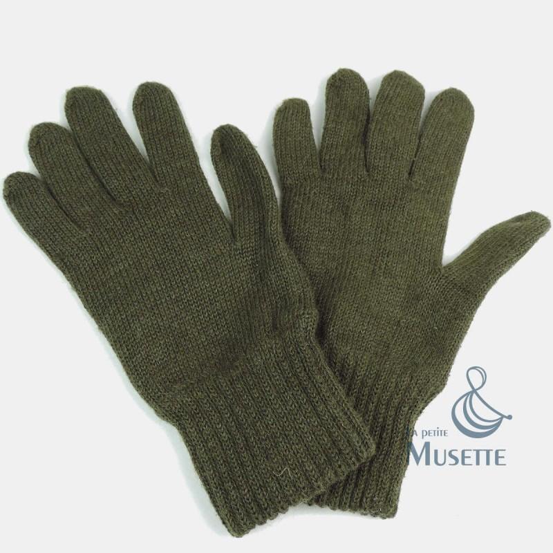 gants en laine us army militaria wwii ardennes 1944. Black Bedroom Furniture Sets. Home Design Ideas