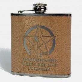 76th flask - Wood