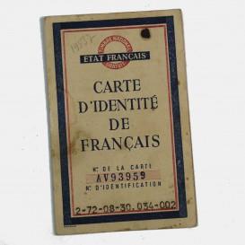 French identity card