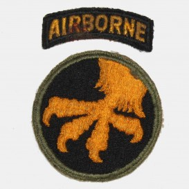 17th Airborne Div. Patch