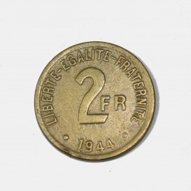 2 Francs Invasion Coin
