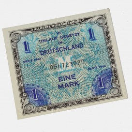 Billet d'invasion 1 Mark