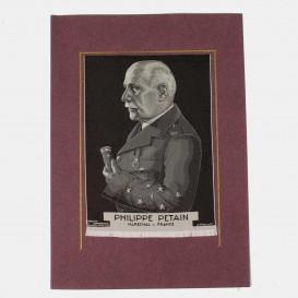 Maréchal Pétain Portrait