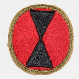 7th Infantry Division Patch