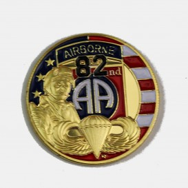 82nd Airborne Coin