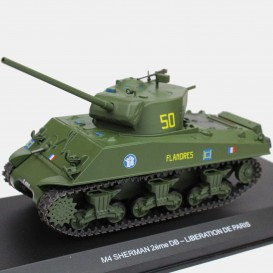Sherman - 2nd French armored