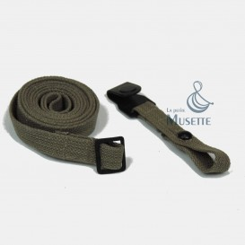 Gas mask canister straps Set