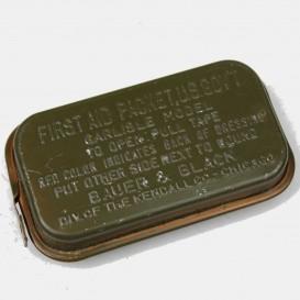 Boîte bandage First-Aid vert