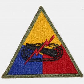 US Armored  Patch