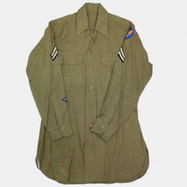 Chemise Moutarde Corporal USAAF