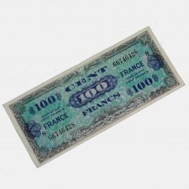 Billet d'invasion 100 Francs