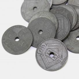 25 Centimes coin, Belgium