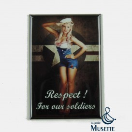 Pin Up Magnet