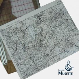 Map of Carentan